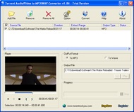 Torrent All to MP3 Converter screenshot